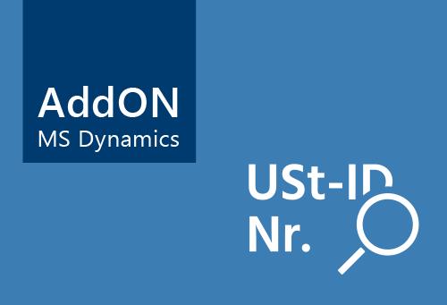 Visiondata - AddOn Prüfung USt-ID Nr. für Microsoft Dynamics NAV