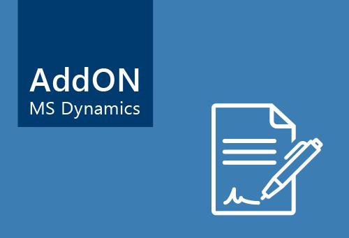 Visiondata - AddOn Vertragsverwaltung für Microsoft Dynamics NAV
